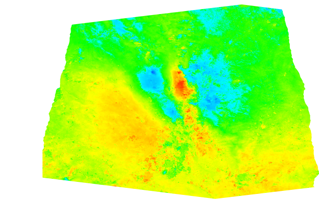 E-W motion component of the Amatrice earthquake from Sentinel-1