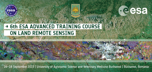 6th ESA Advanced Training Course on Land Remote Sensing