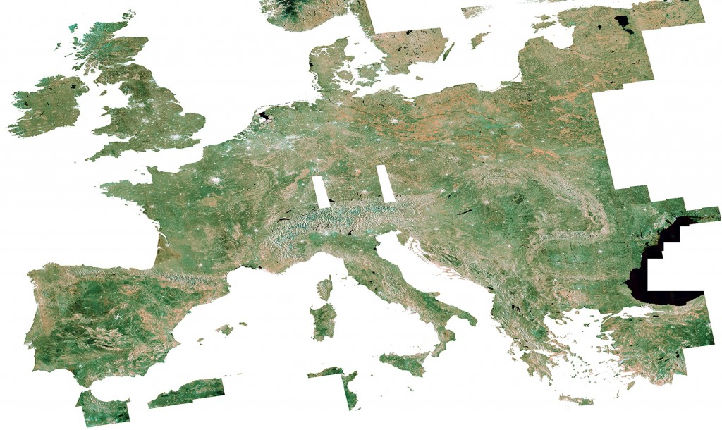 S1A Country Mosaic over Europe